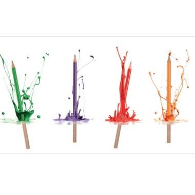 Katalog Werben mit Bleistiften